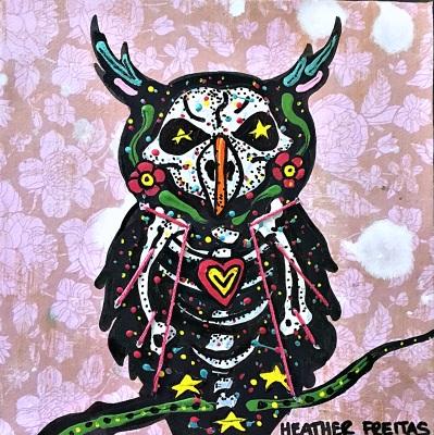 Pintura Owl