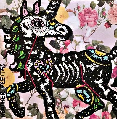 Pintura Unicorn