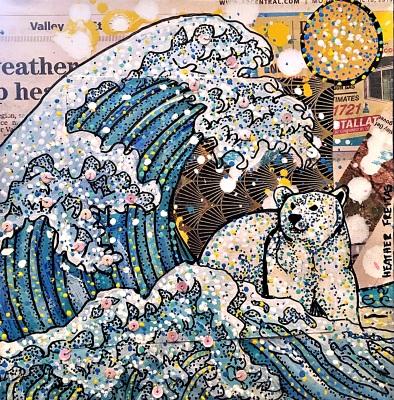 Katsushika Hokusal- The Great Wave Off Kanagawa