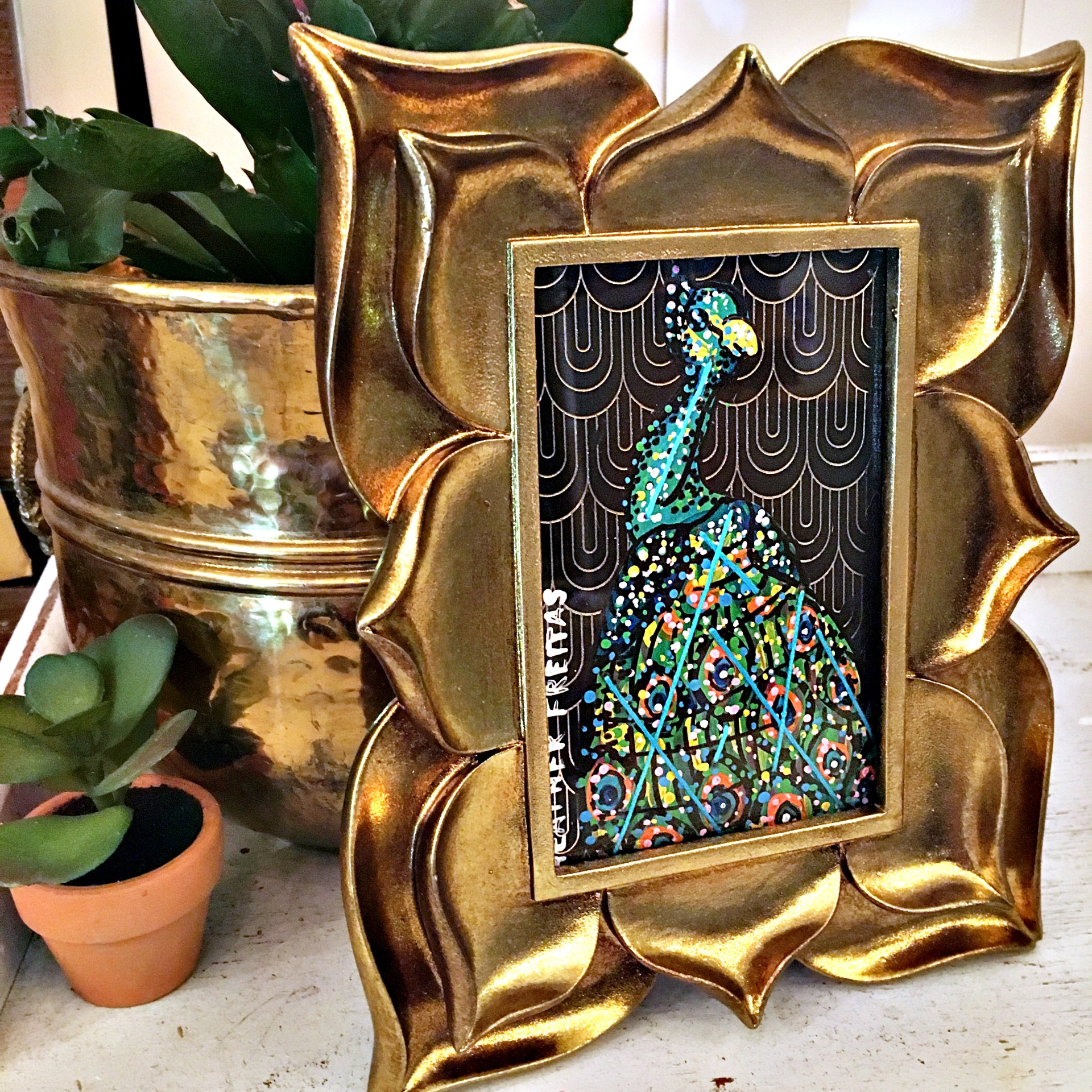 Peacock Study