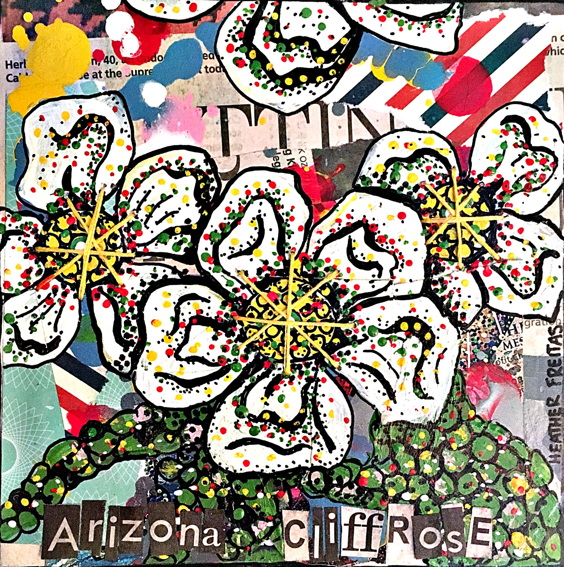 Arizona Cliffrose II