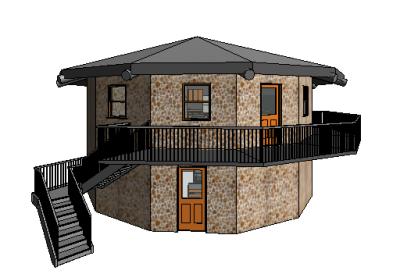 Dodecagon House - Exterior