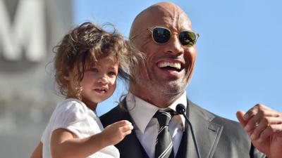 The Rock thanks medical professionals who tended to his two-year-old during an emergency