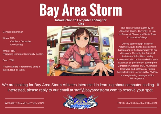 Bay Area Storm Computer Coding