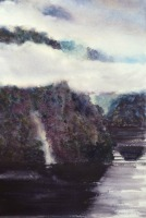 Aotearoa Waterfull, Doubtful Sound by Elizabeth Martyn