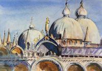 'Basilica of S. Marco, Venice' by Elizabeth Martyn