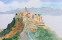Civita di Bagnoregio by Elizabeth Martyn