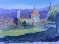 Florence, The Duomo by Elizabeth Martyn