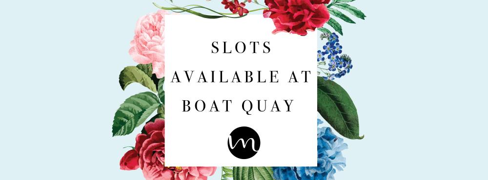 Boat Quay Opening!