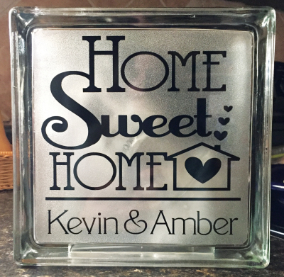 HOME SWEET HOME $35.ea  PERSONALIZED w/Names