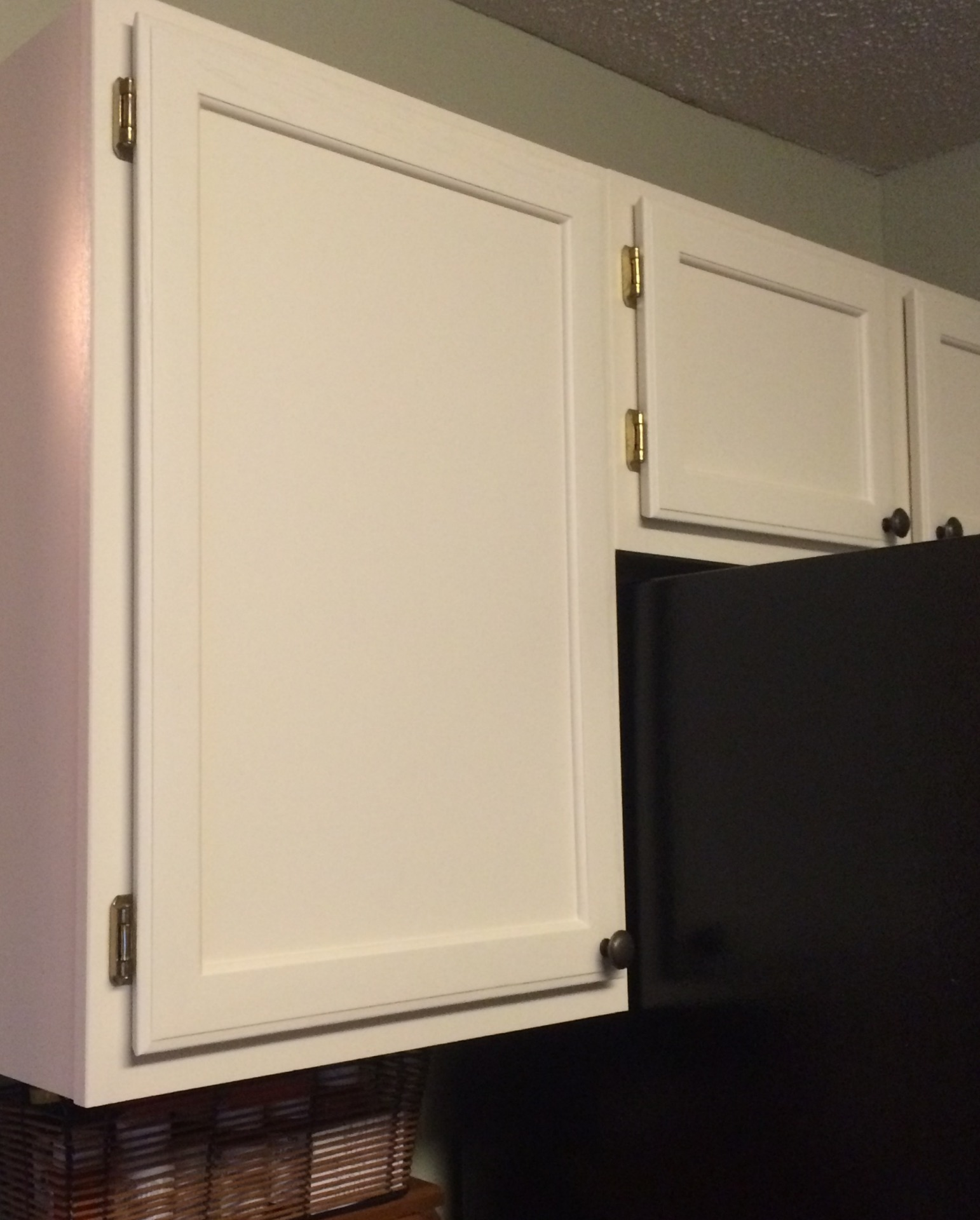 off white beyond paint oak kitchen cabinets painted  faux finish decorative paint raleigh