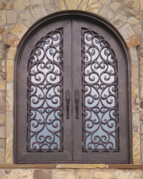 metallic paint metal door, scrolled, exterior, match, wakefield, fabulous finishes by michelle