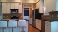 bright white relaim beyond paint kitchen cabinets bedford  faux finish decorative paint raleigh