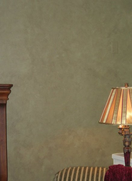 green colorwash family room faux finish decorative painting cary  faux finish decorative paint raleigh