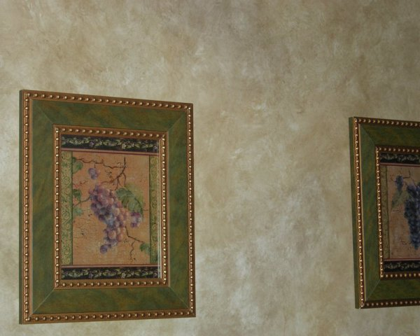 2 color colorwash kitchen dining room cary faux finish decorative painting