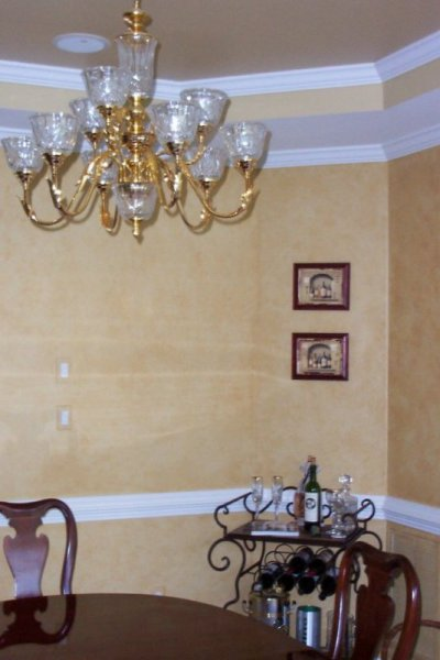 tuscan stone yellow glaze rustic wake forest  faux finish decorative paint raleigh