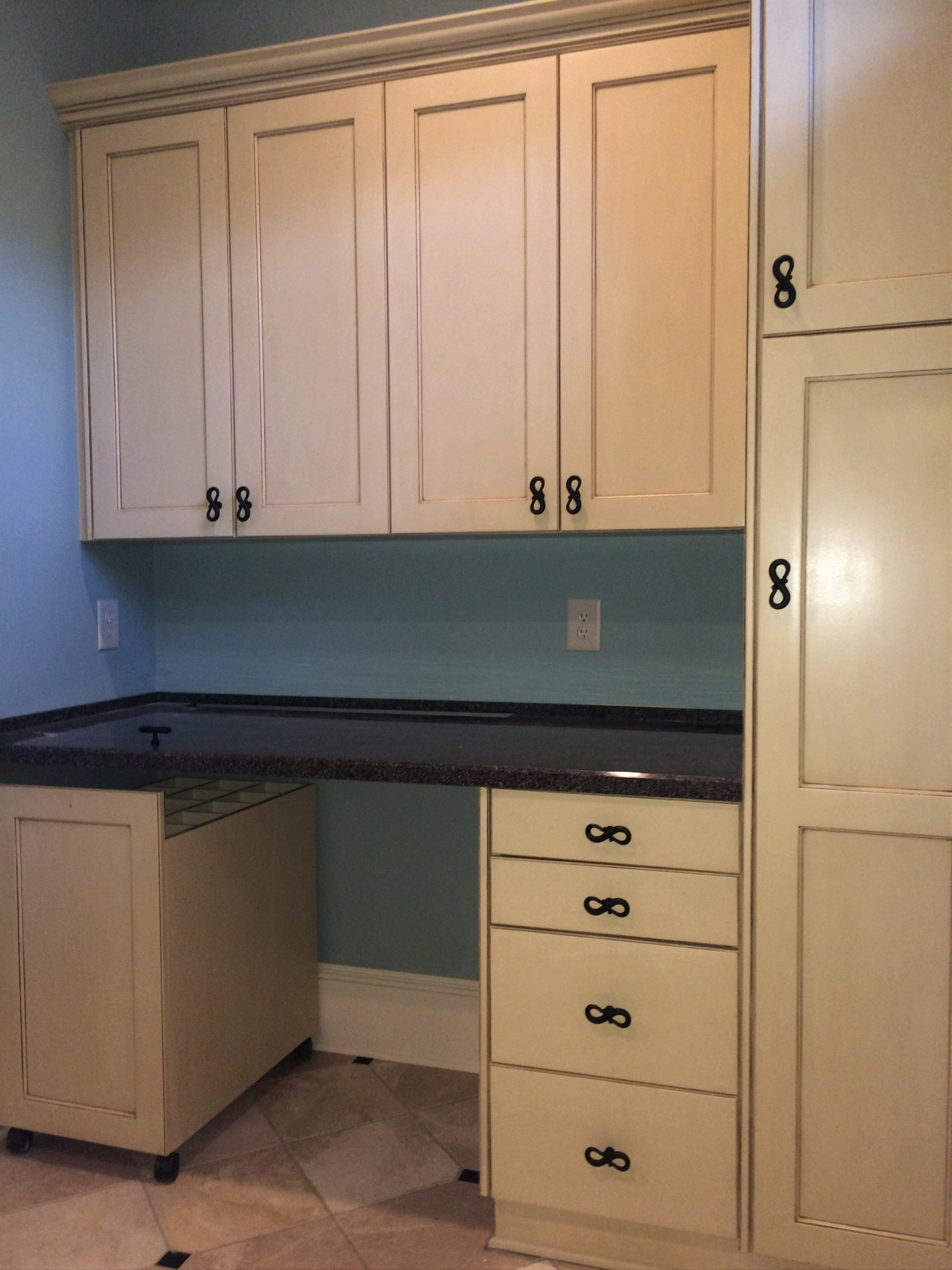 glazed laundry room cabinets custom match garner nc colorful concepts