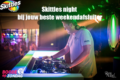 Skittles night @ Boode op zondag