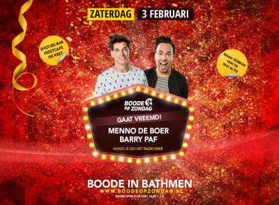 BoZ Gaat Vreemd: 538 Radio Rave met Menno de Boer en Barry Paf