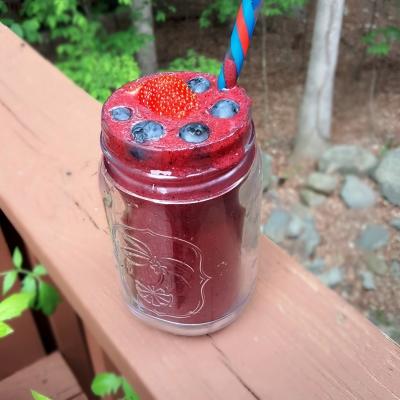 Smoothie Lover: Berry Blast