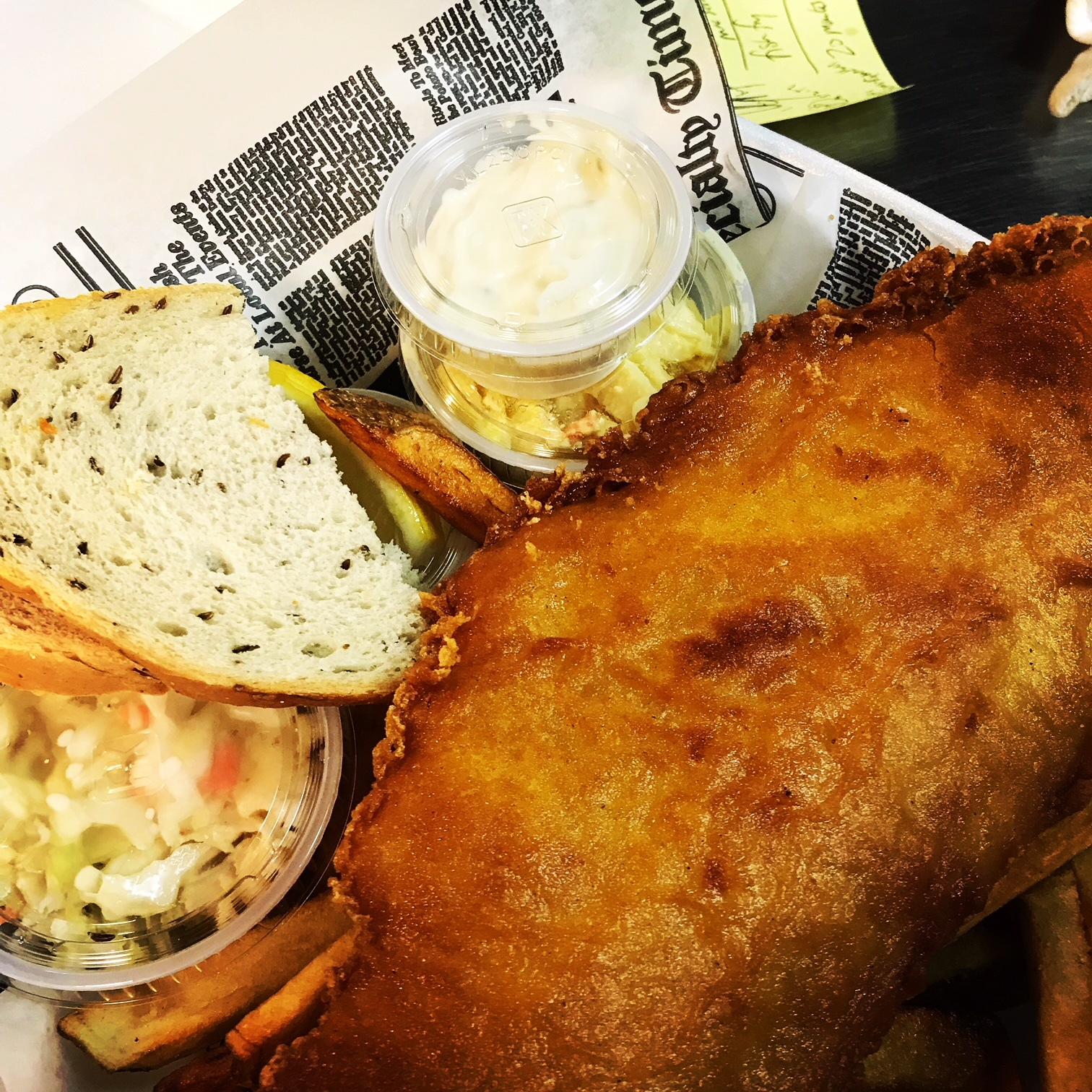 Beer Battered Haddock Fish Fry - $11.99