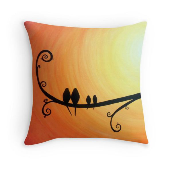 Roots and Wings cushion