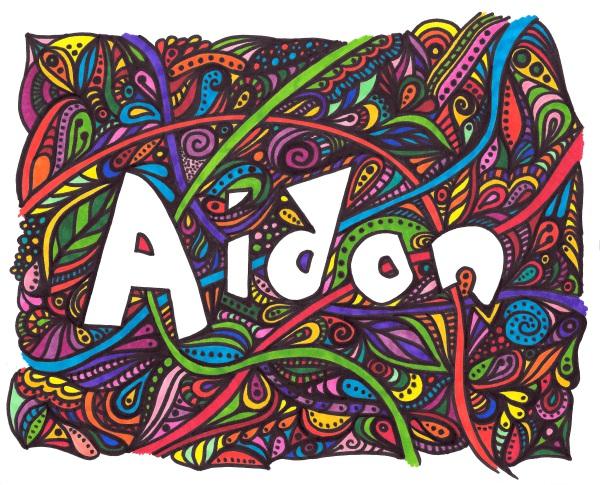 Aidan print