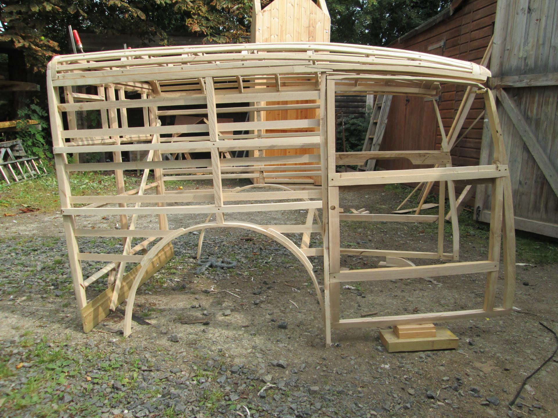 Austin Seven woodwork specialists