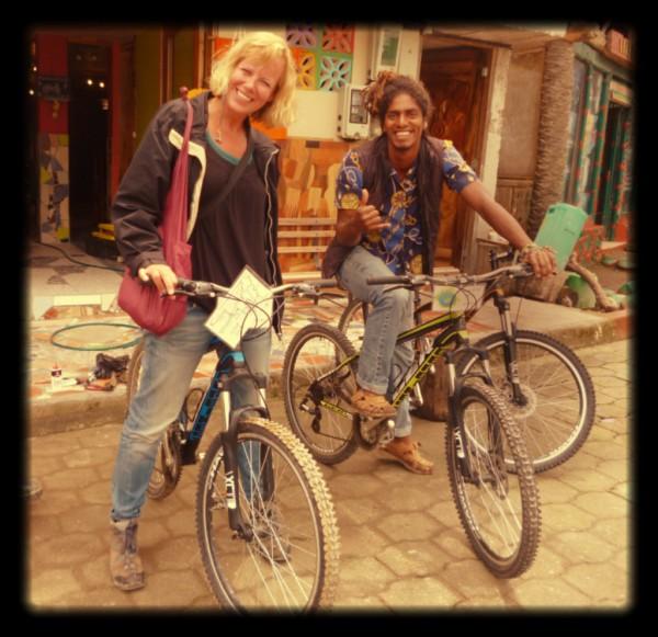 Holand and Ecuador biking