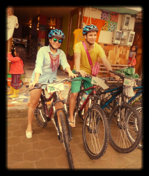 Quevedo, Ecuador riding bicycles