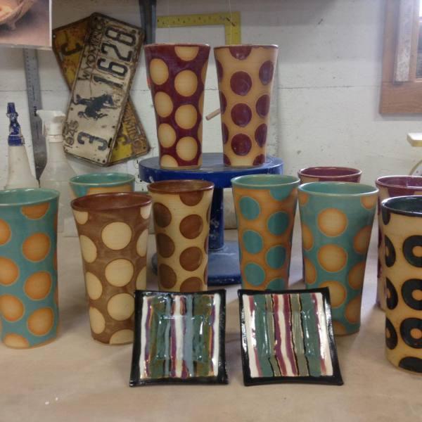 Barbara Gail Sellar ~ Dog Paw Pottery