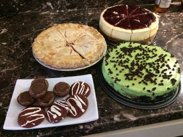 Desserts from scratch