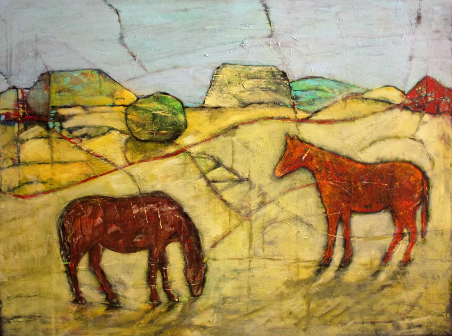 Farm witrh 2 horses