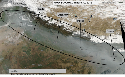 sataq, aerosol, pollution, IGP, NASA, MODIS