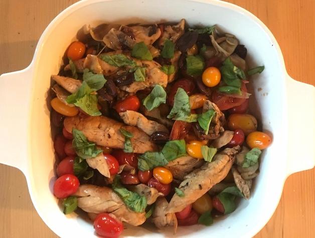 Recipe: Mediterranean Chicken Skillet