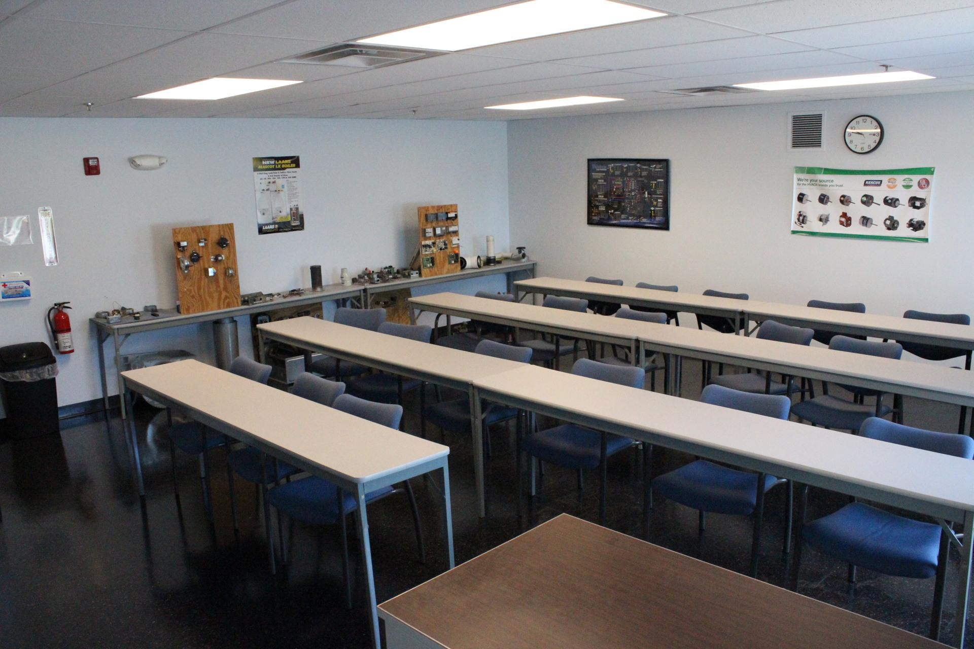 Gas Heat classroom
