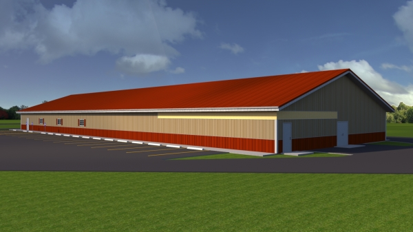 Drawing of the new facility!