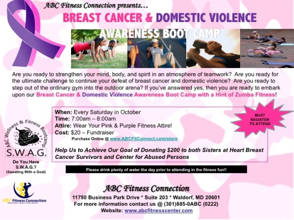 #breastcancer #bookcamp #fitness #ABCFitConnect