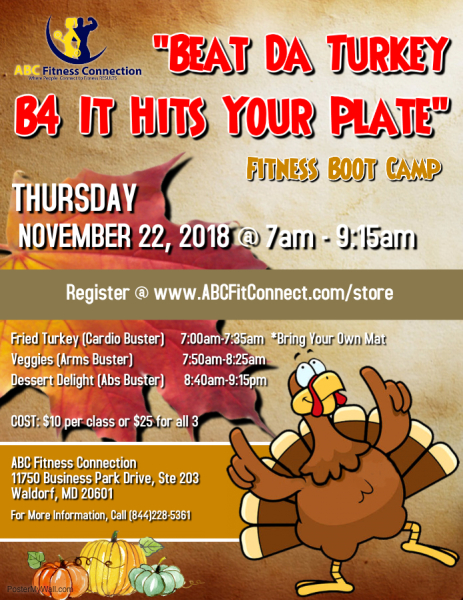 Beat Da Turkey B4 It Hits Your Plate | Nov. 22