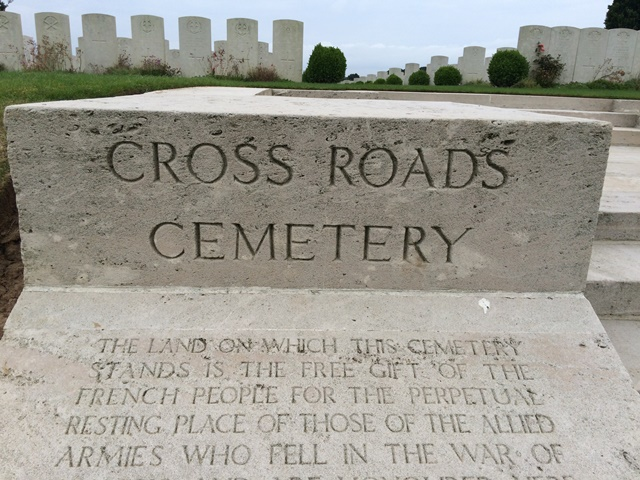 Cross Roads Cemetery