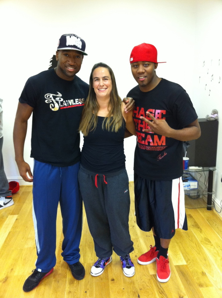 Rachel with Swoosh and Neo from Flawless