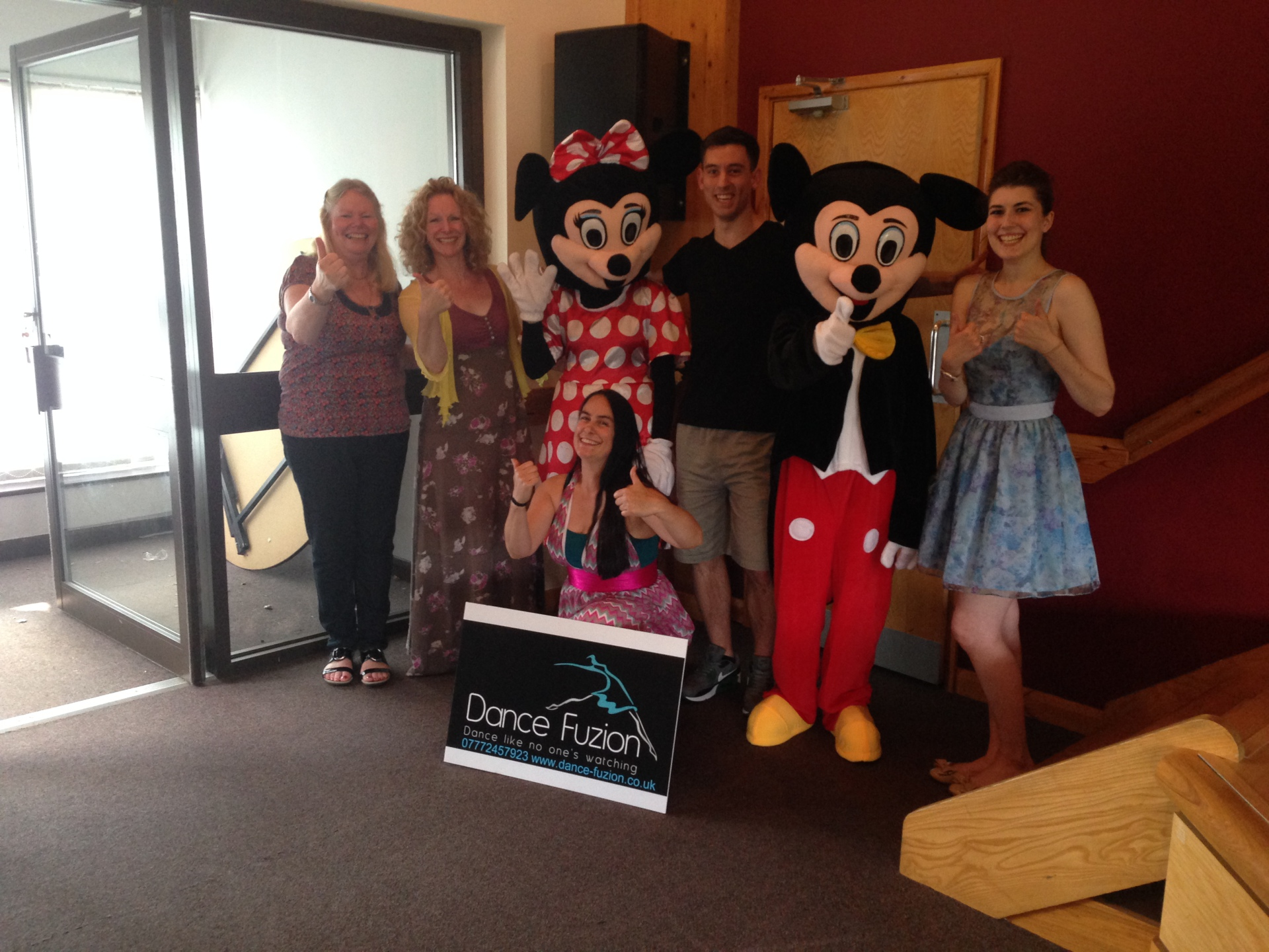 Presentation with Mickey and Minnie