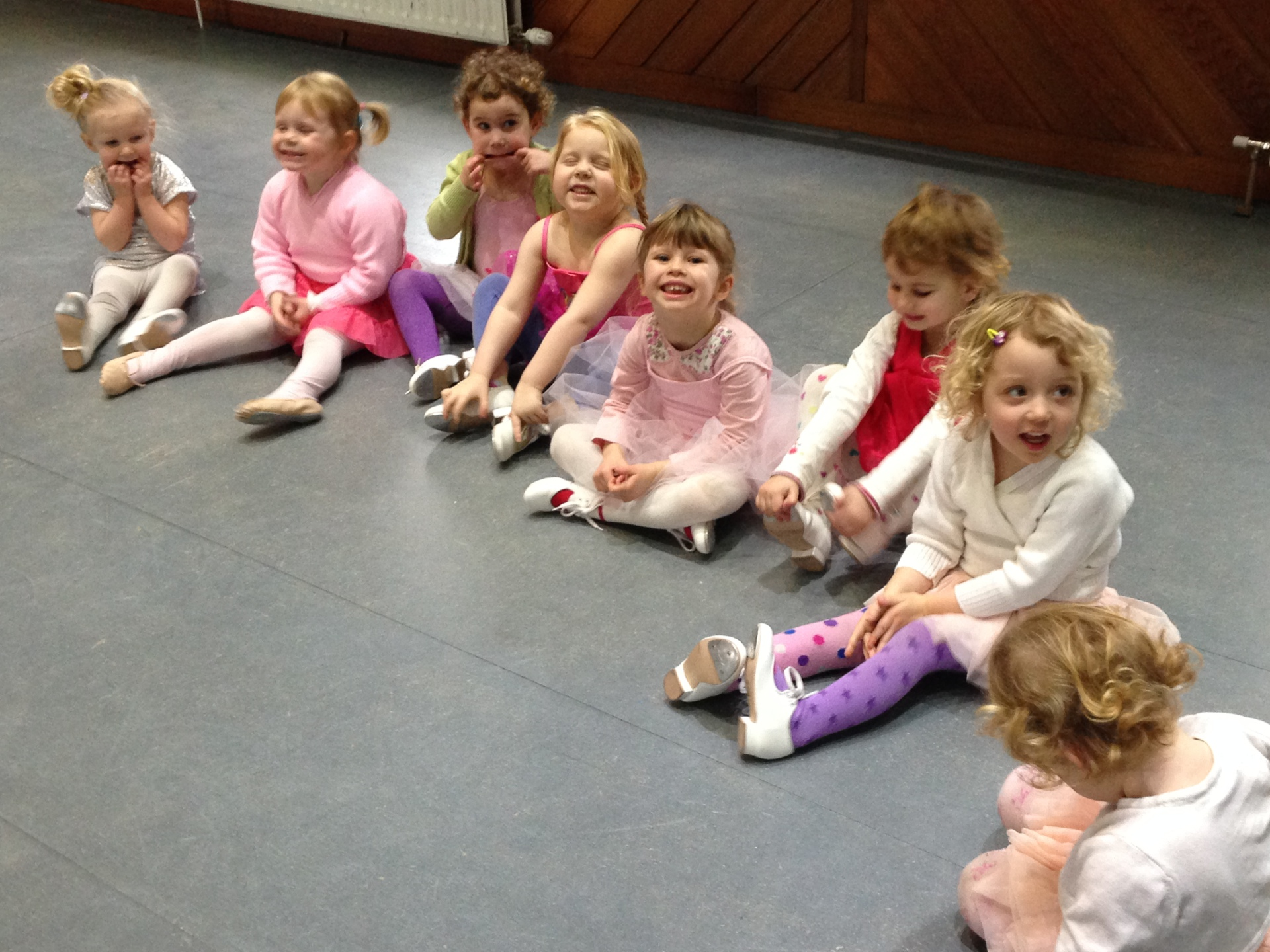 Preliminary two Ballet