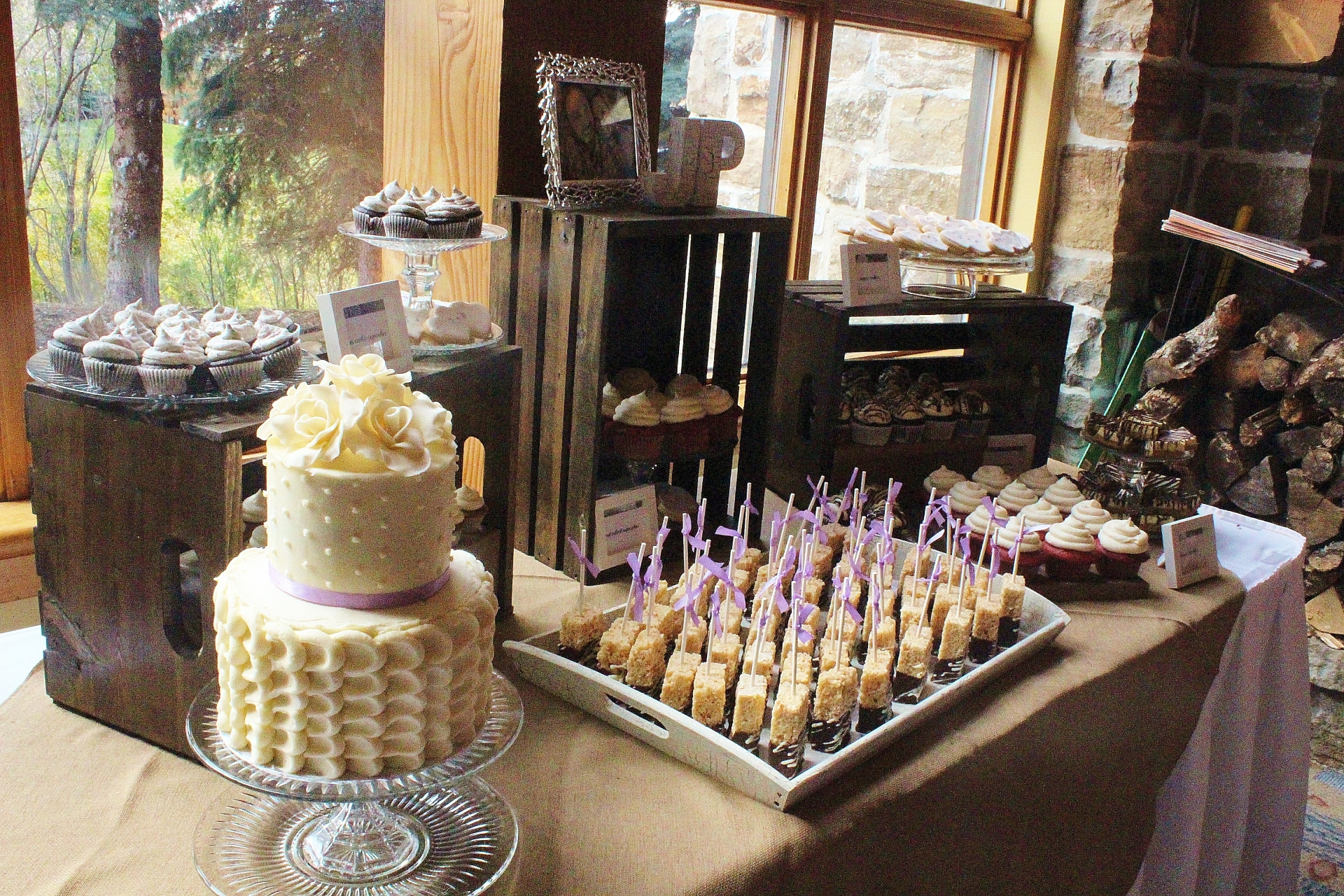 Cozy Cottage Dessert Table