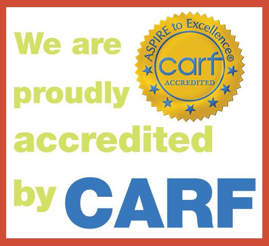 FCC has earned a 3-year CARF Accreditation