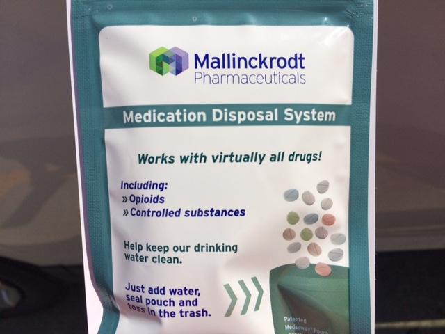New pill disposal pouch aimed to curb prescription drug abuse