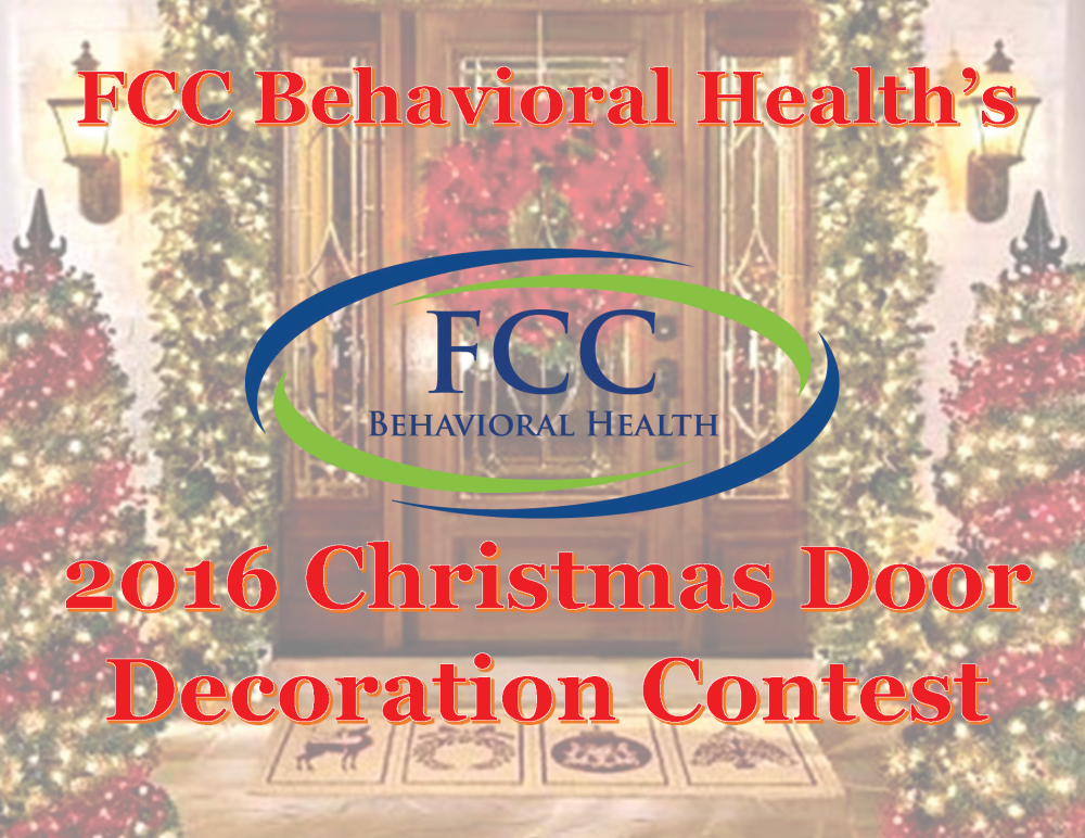 2016 FCC Behavioral Health Door Decoration Contest