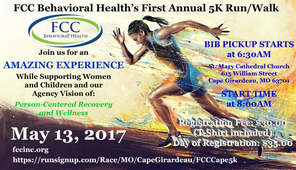 2017 FCC Behavioral Health First Annual 5K - Cape