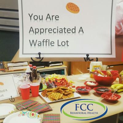 FCC Behavioral Health Appreciation Breakfast