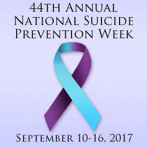2017 National Suicide Prevention Week